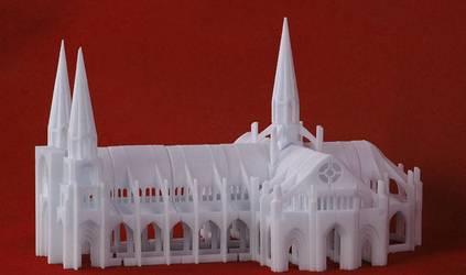 Это тоже продукт распечатки 3D принтера.