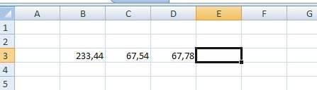 Десятичные знаки в Excel. Автоматический ввод