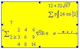Создание формул в Word
