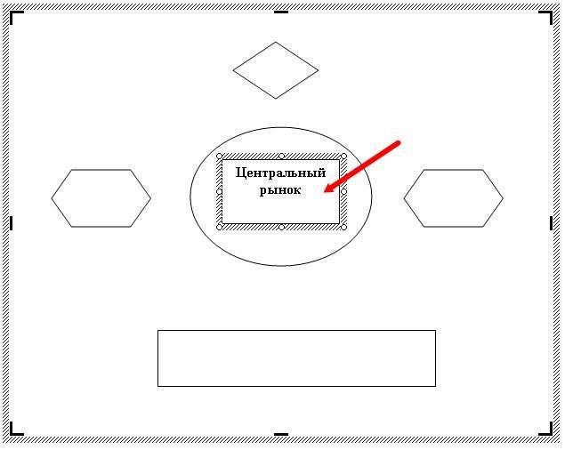 Блок-схема в Word.