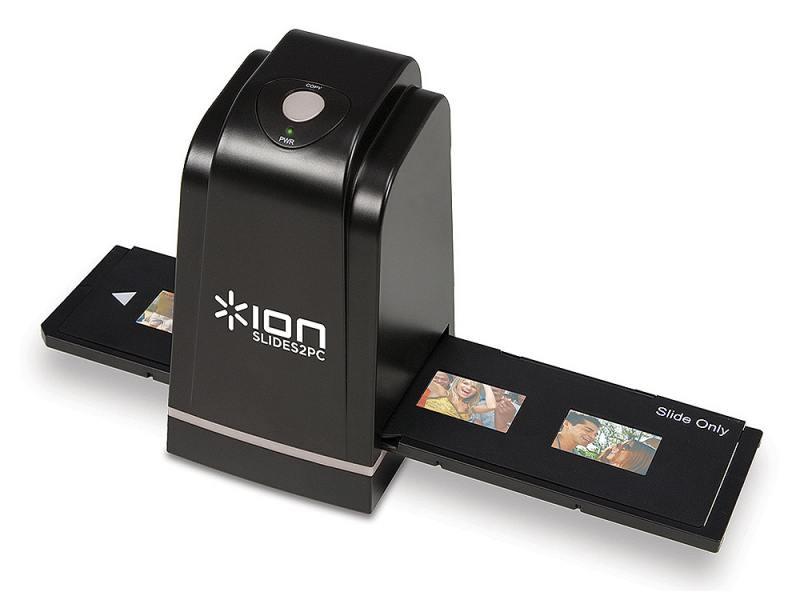 Слайд-сканер, хорош для сканирования фотопленок.