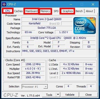 Как узнать параметры своего компьютера