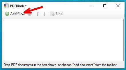 После запуска программы откроется маленькое окошко в котором необходимо нажать круглую зеленую кнопку с белым крестиком «Add file…»