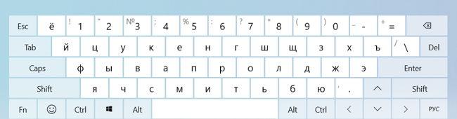 Откроется небольшое окошко, где можно изменить сам вид клавиатуры и даже ввести рукописный текст мышкой.