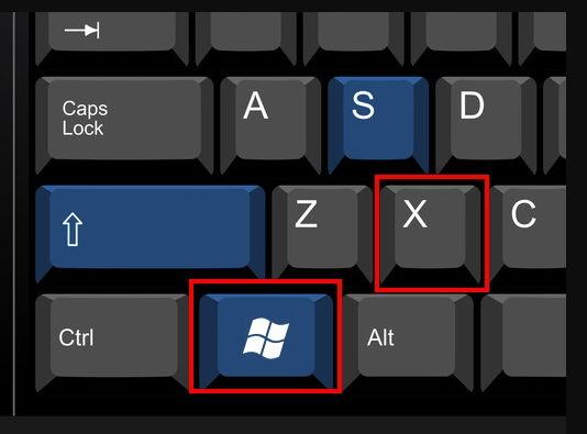 Начиная с Windows 8 появилось новое удобное контекстное меню, которое можно открыть сочетанием клавиш Win + X.