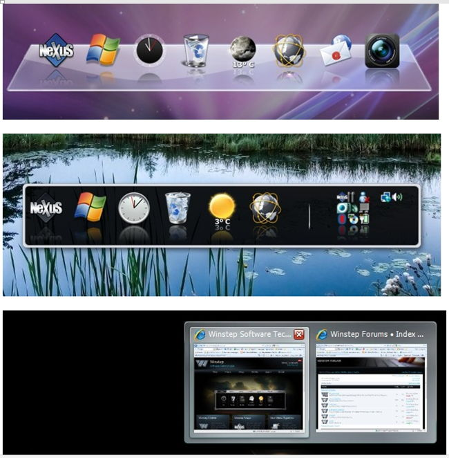 Скриншоты программы с сайта разработчика.